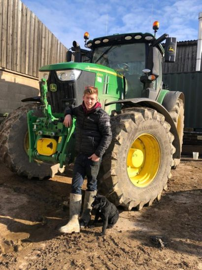 Charlie Redvers tractor