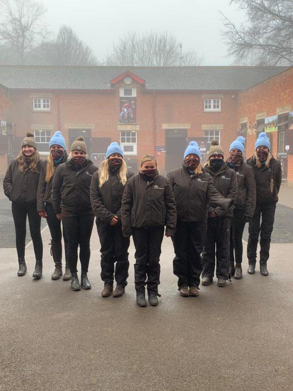 Tweenhills staff at sales