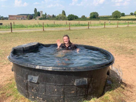Sophie water trough